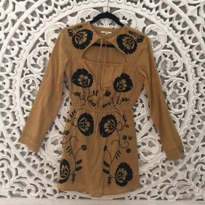 TULAROSA Keeylan Embroidered Dress XS
